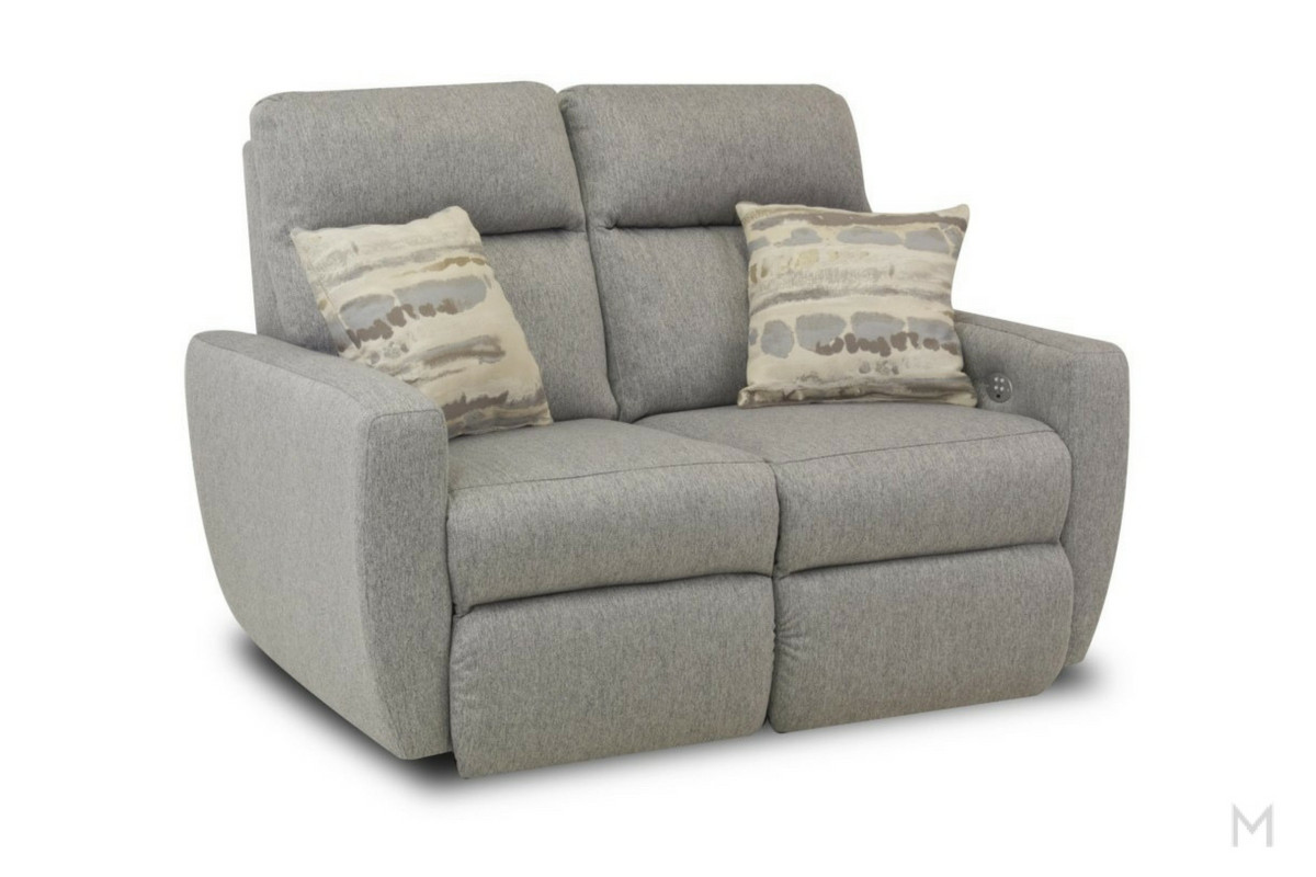 M Collection Knock Out Loveseat Recliner