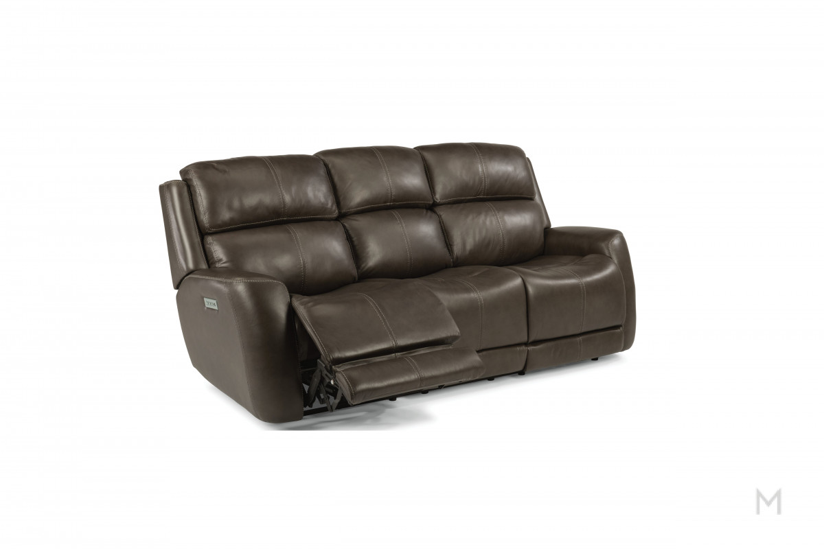 Zelda Power Reclining Sofa with Power Capabilites