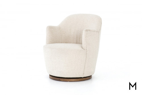 Drum Swivel Accent Chair