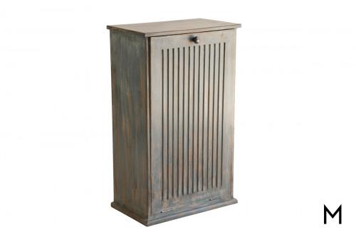 Farmhouse Trash Bin Cabinet