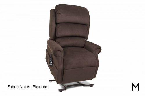 Medium Stellar Lift Recliner in Abbington Wicker