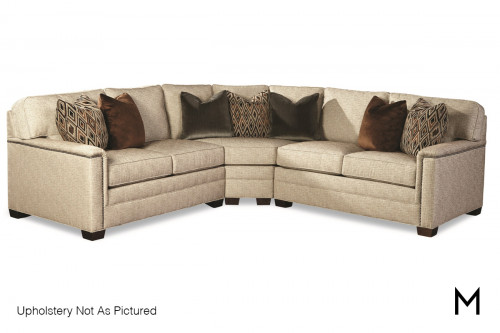 Quaint 3-Piece Sectional Sofa