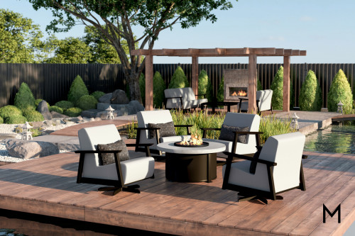 Round Chat Fire Pit
