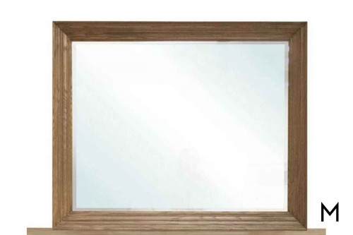 Trailside Wall Mirror in Light Maple