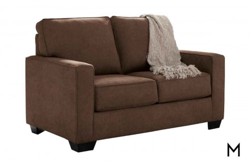 Zeb Twin Sofa Sleeper in Espresso