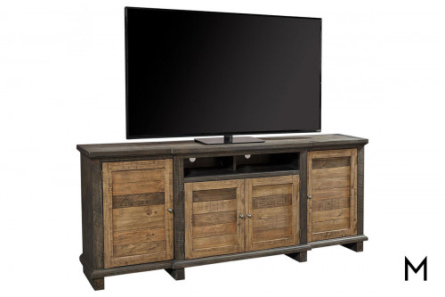 Suffolk Sandstone Large TV Console with Doors