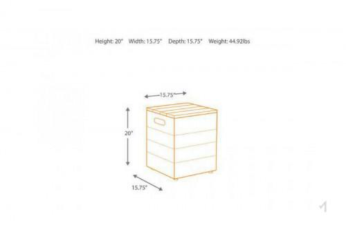 Hetland Propane Storage Box