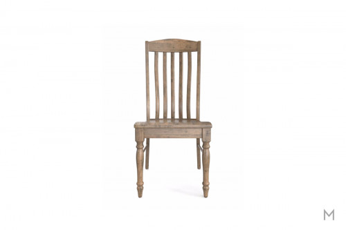 Henry Dining Side Chair in Distressed Brown