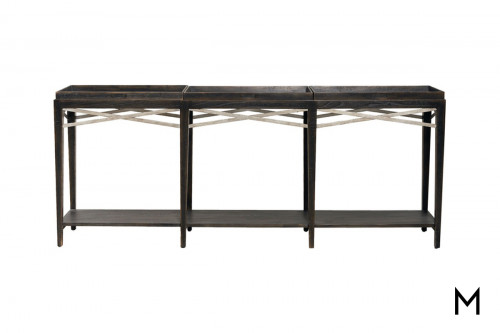 Console Table with Removable Trays