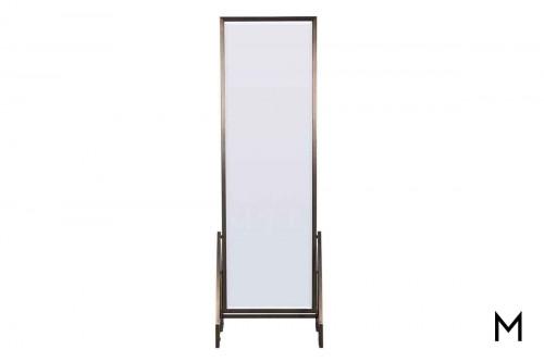 Charcoal Floor Mirror