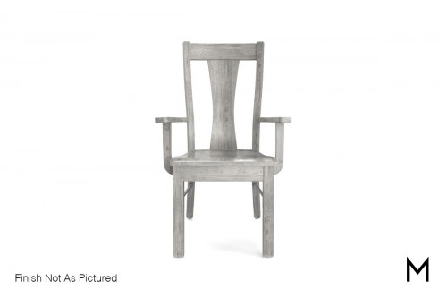 Maple Arm Chair in Autumn Gray