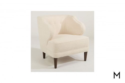 Etta Accent Chair in Cream