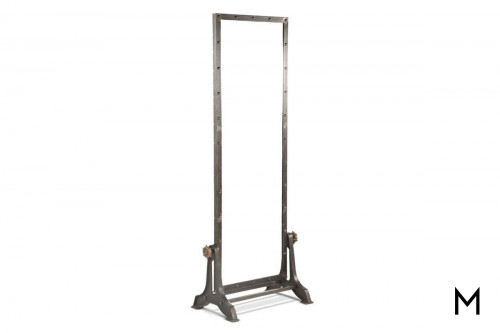 "Pittsburg 76"" Iron Mirror"