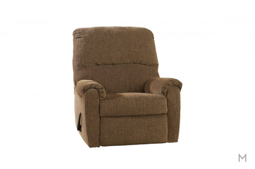 Pranit Zero Wall Recliner in Walnut Brown
