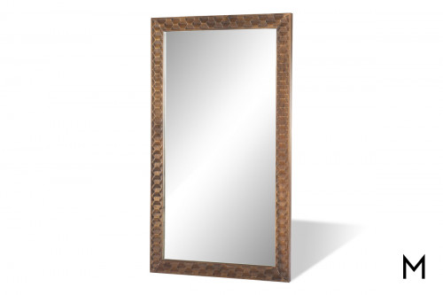 Carved Framed Floor Mirror