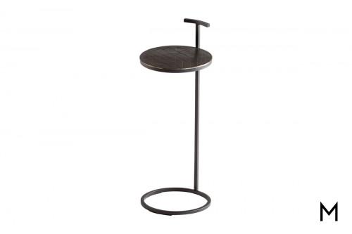 Minimalistic Metal Side Table