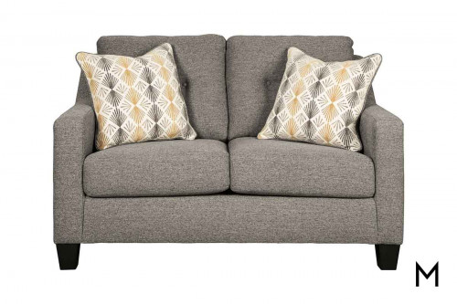 Daylon Loveseat in Graphite
