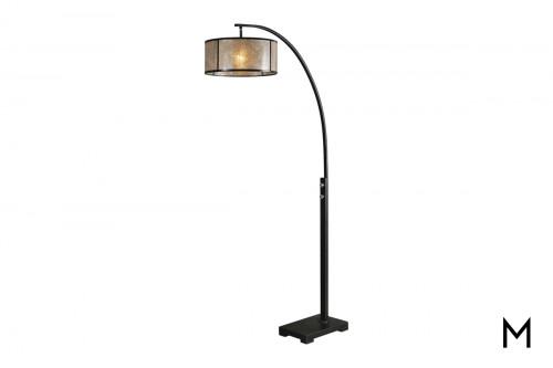 Bronze Arch Floor Lamp