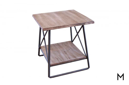Rebar End Table