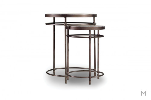 Saint Armand Nesting Tables made of Acacia Wood