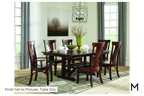 "Rialto Dining Table with One 18"" Leaf"