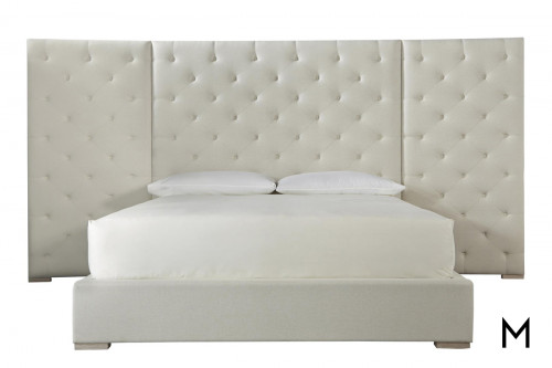 Tufted Multi-Panel King Headboard