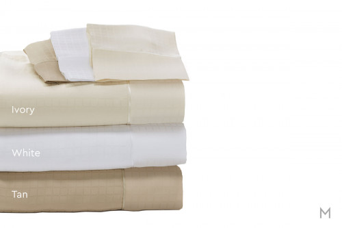 Degree 6 TENCEL® SUPIMA® Sheet Set - King in White