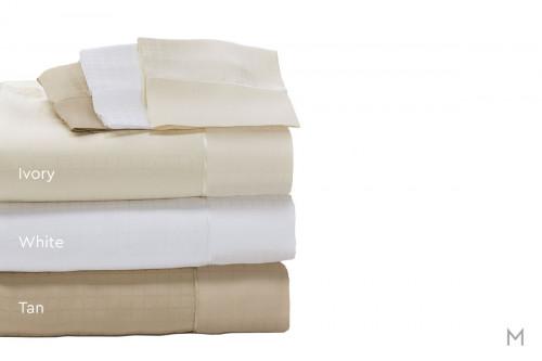 Degree 6 TENCEL® SUPIMA® Sheet Set - King in White
