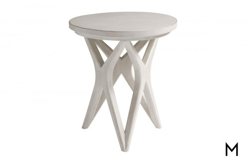 Cross-Base Accent Table