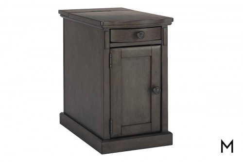 Laflorn Chair Side Table in Gray