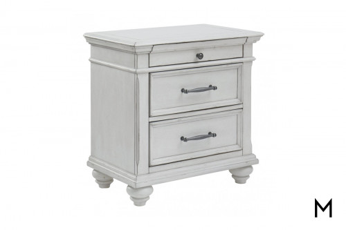 Kanwyn 3 Drawer Nightstand