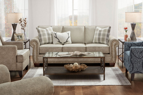 Northwest Paloma Sofa with Nailhead Trim