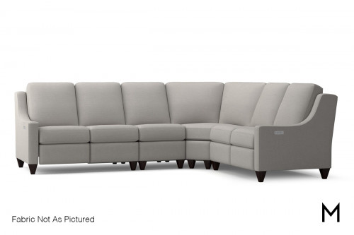 Magnificent 4-Piece Sectional Sofa