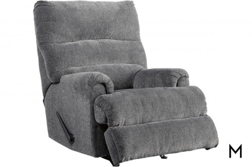 Man Fort Recliner in Graphite
