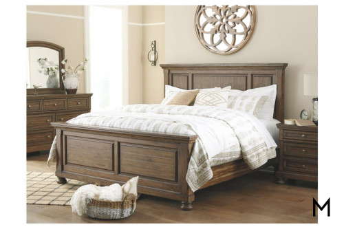 Flynnter Queen Panel 4-Piece Bedroom Set