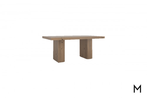 "Double Pedestal 72"" Dining Table"