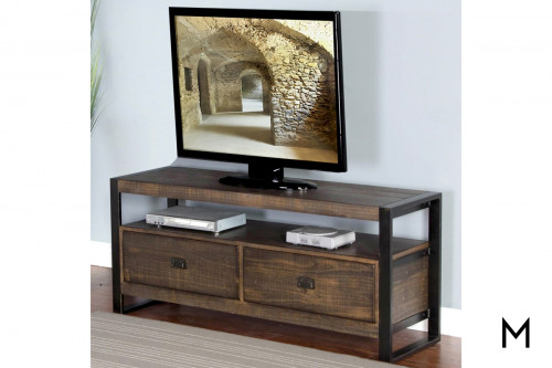 "Homestead 54"" TV Console in Tobacco Leaf"