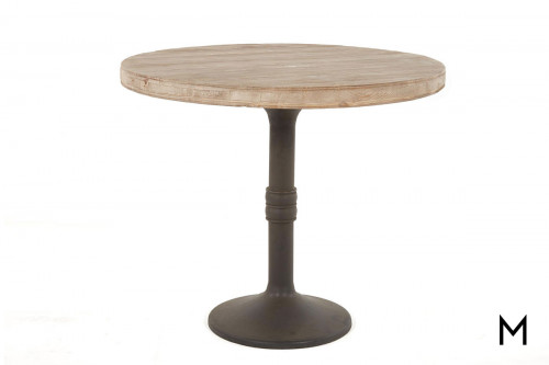 Sadie Counter Table with Medium Gray Iron Base