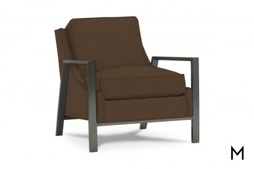 Odell Accent Chair in Copper