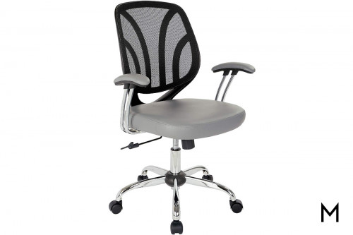 Charcoal Screen Back Office Task Chair