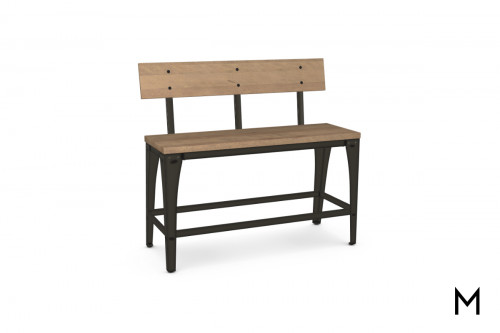 Architect Counter Height Bench