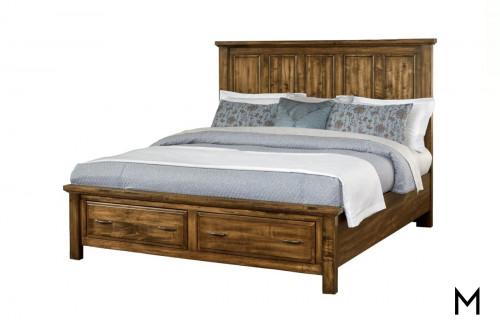 Maple Road King Storage Bed