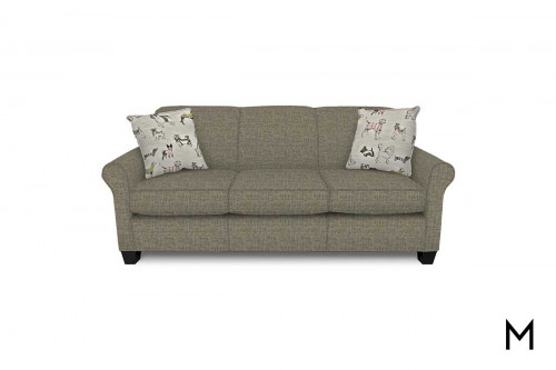 """Angie Sofa with """"Top Dog"""" Pillows"""