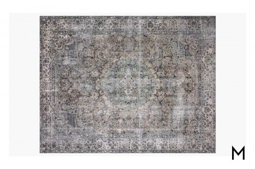 Layla Taupe and Stone Area Rug 8'x10'