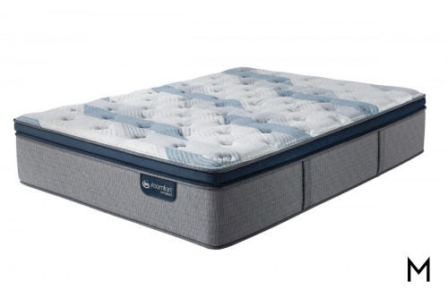 Serta iComfort Blue Fusion 300 Plush Pillow Top Queen Mattress