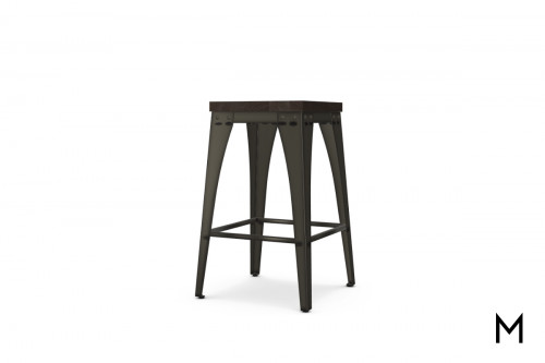 Upright Non-Swivel Counter Stool