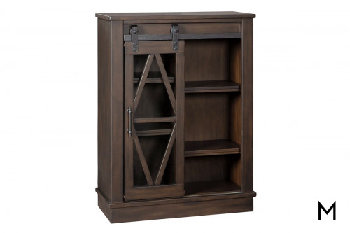 Barn Door Accent Cabinet