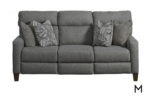 M Collection Mt. Vernon Power Reclining Sofa with Pillows