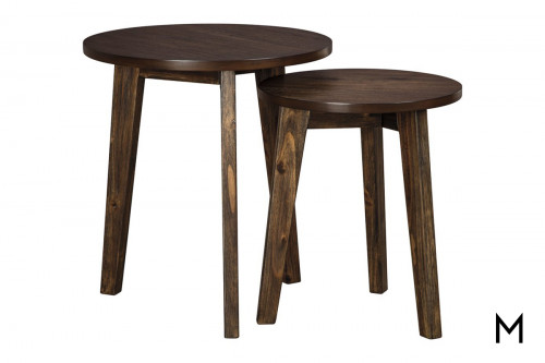 Round Nesting Accent Table Set