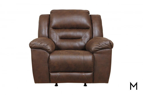 Stoneland Recliner in Chocolate Brown